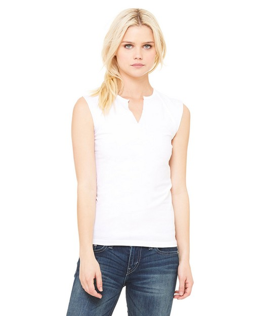 Bella + Canvas 820 Ladies V-Slit Tee