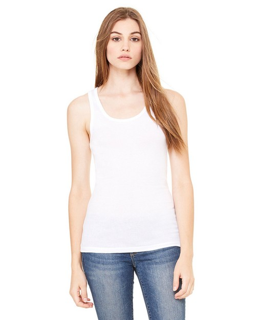 Bella + Canvas 8780 Sheer Rib Longer Tank