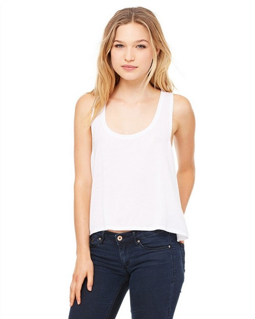Bella + Canvas 8880 Ladies Flowy Boxy Tank