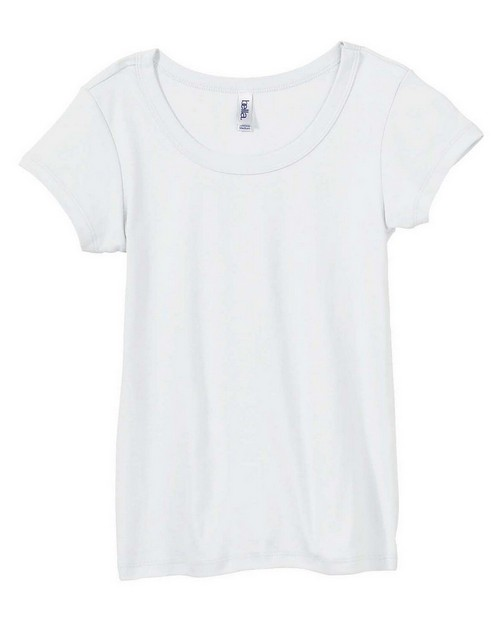 Bella + Canvas B1003 Ladies 1x1 Baby Rib Scoop Neck T-Shirt