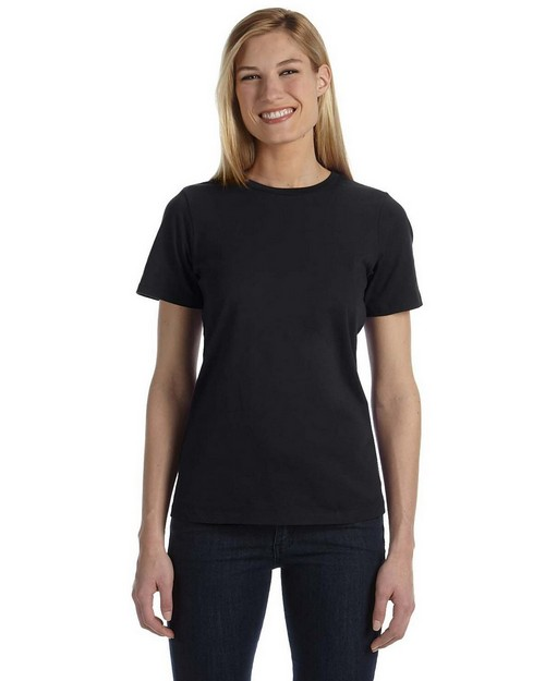 Bella + Canvas B6400 Ladies Missy's Relaxed Jersey Short-Sleeve T-Shirt