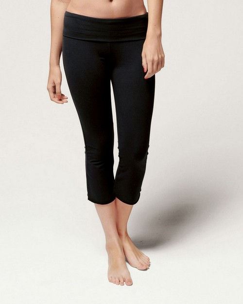 Bella + Canvas B815 Ladies 8 oz. Cotton/Spandex Capri Pant