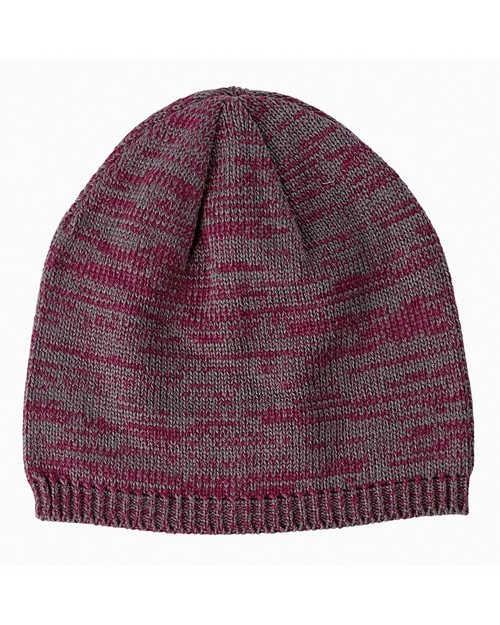 Big Accessories BA525 Two Tone Marled Beanie