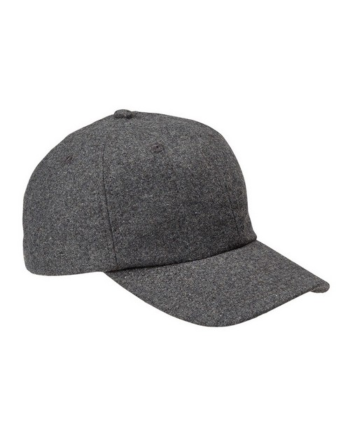 Big Accessories BA528 Wool Baseball Cap