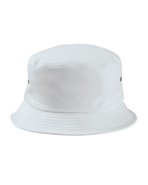 Big Accessories BA534 Metal Eyelet Bucket Cap