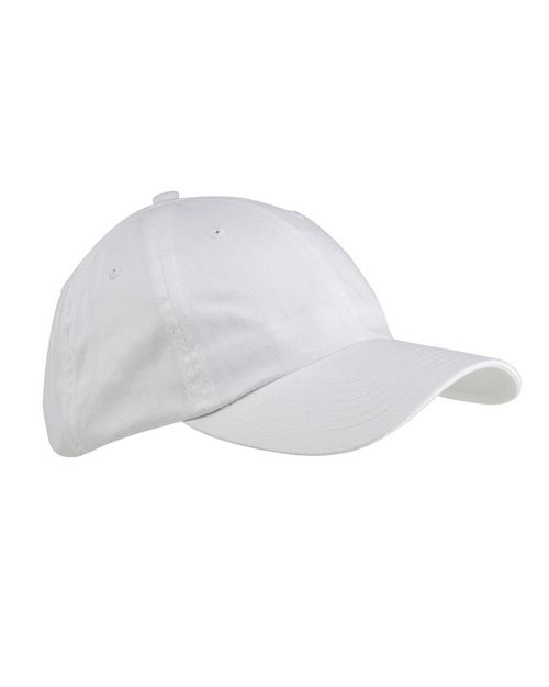 Big Accessories BX001Y Youth 6-Panel Brushed Twill Unstructured Cap