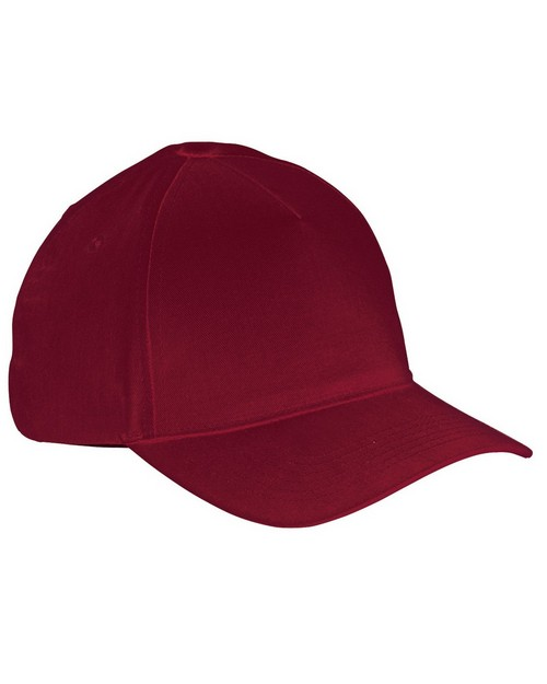 Big Accessories BX034 5 Panel Brushed Twill Cap