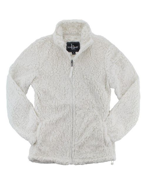 Boxercraft Q12 Sherpa Womens Full-Zip Jacket