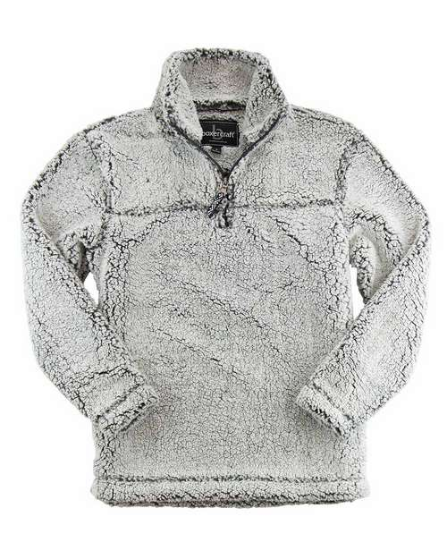 Boxercraft YQ10 Youth Sherpa 1/4 Zip Pullover