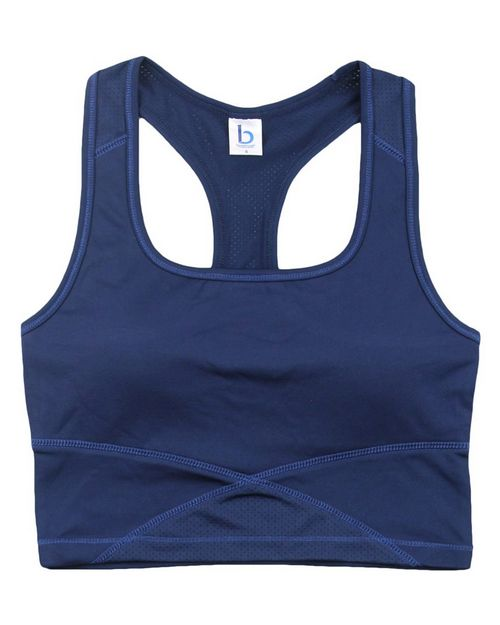 Boxercraft YS83 Youth Cropped Middie Tank