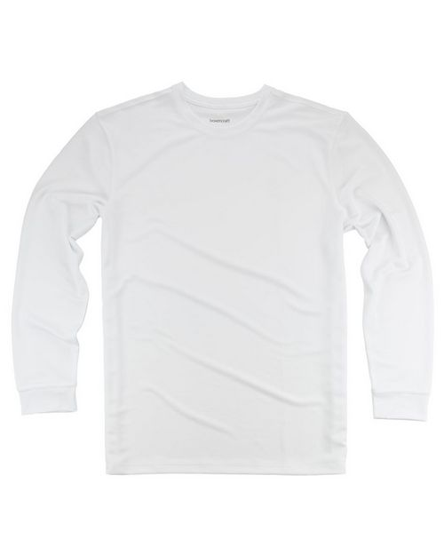 Boxercraft YT76 Youth Long Sleeve Performance T-Shirt