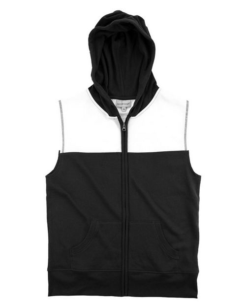 Boxercraft YV30 Youth Sleeveless Hoodie