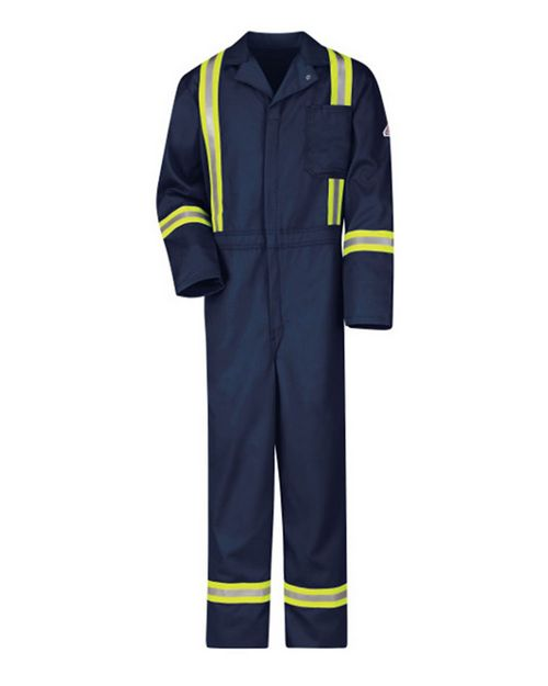 Bulwark CECT Classic Coverall with Reflective Trim - EXCEL FR