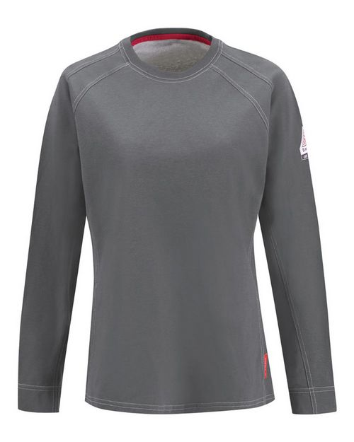 Bulwark QT31 iQ Series Comfort Knit Women's Long Sleeve Tee