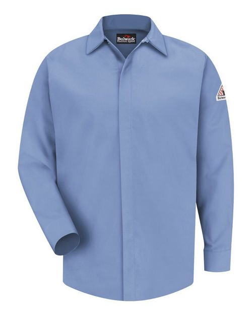 Bulwark SLS2 Concealed-Gripper Pocketless Work Shirt