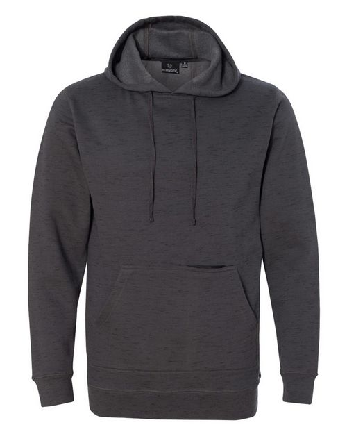 Burnside 8609 Injected Yarn Dyed Fleece Hooded Pullover Sweatshirt
