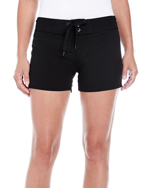 Burnside B5371 Ladies Dobby Stretch Board Short