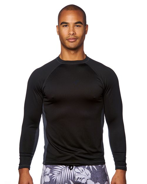 Burnside B8151 Mens Long-Sleeve Rash Guard Shirt
