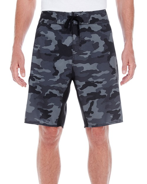 Burnside B9371 Mens Dobby Stretch Board Short