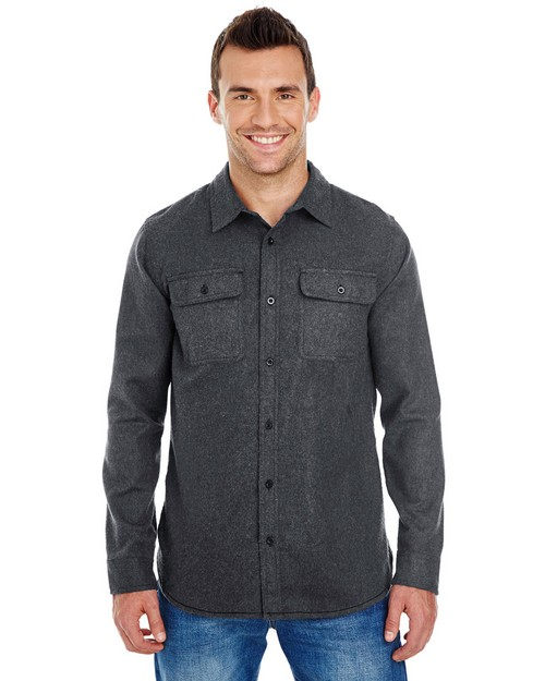 Burnside BU8200 Mens Solid Flannel