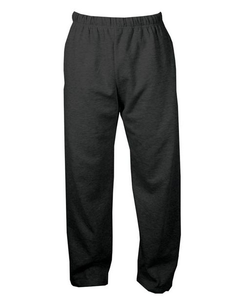 C2 Sport 5577 Open Bottom Sweatpants with Pockets