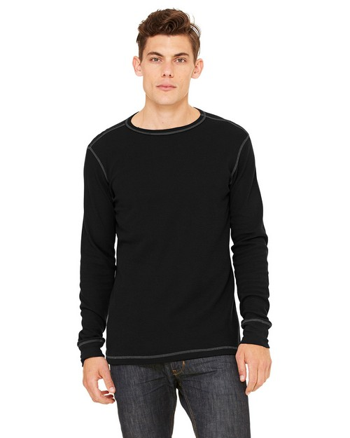 Bella + Canvas 3500 Men's Thermal Long-Sleeve T-Shirt