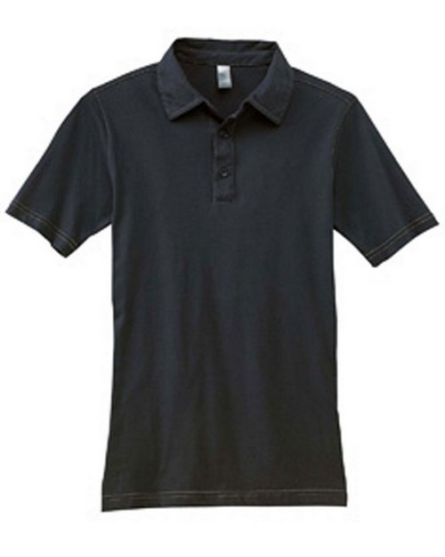 Bella + Canvas 3855 Men's 4.2 oz. Hudson Three-Button Polo