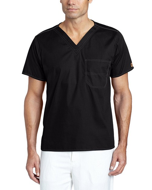 Carhartt C10001 Unisex V-Neck Chest Pocket Top