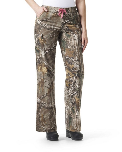 Carhartt C52405 Women's Boot Cut Print Pant