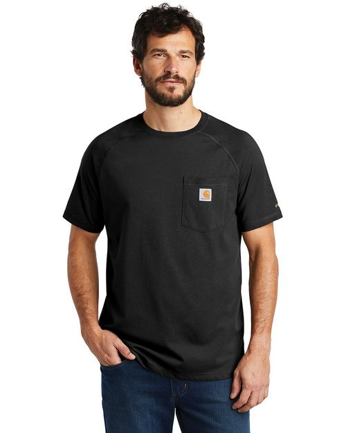 Carhartt CT100410 Force Cotton Delmont Short Sleeve T-Shirt