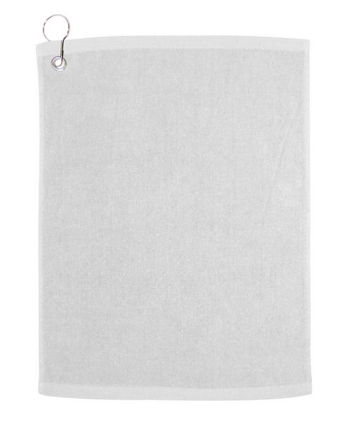 Carmel Towel Company C1518G Large Velour Golf Towel