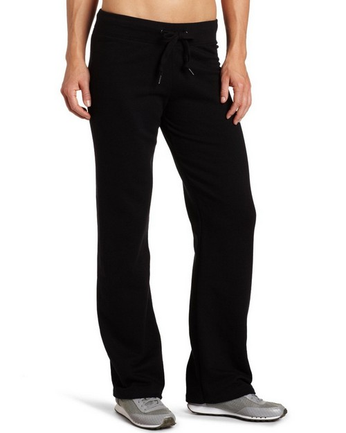 Champion 8274 Womens Eco Fleece Open Bottom Pant