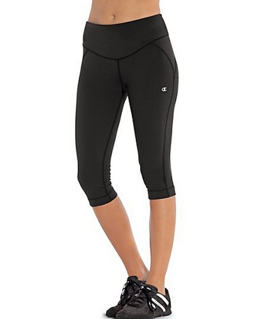 Champion 8275 Shape Fitted Womens Knee Pants