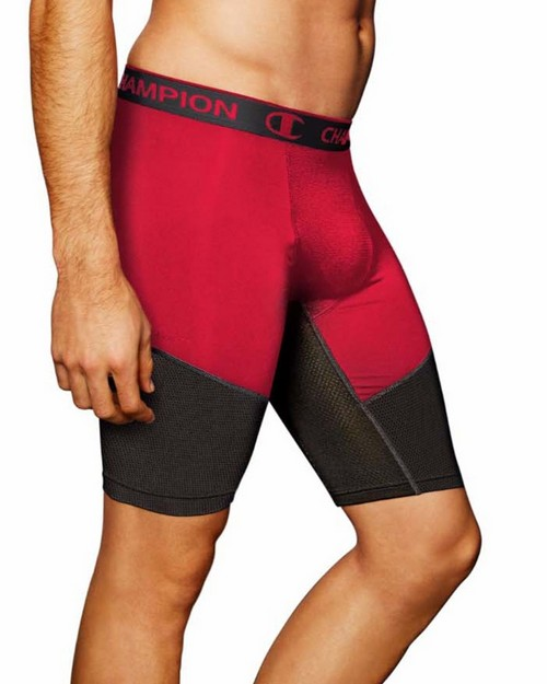 Champion 84956 PowerFlex 9 Mens Solid Compression Shorts