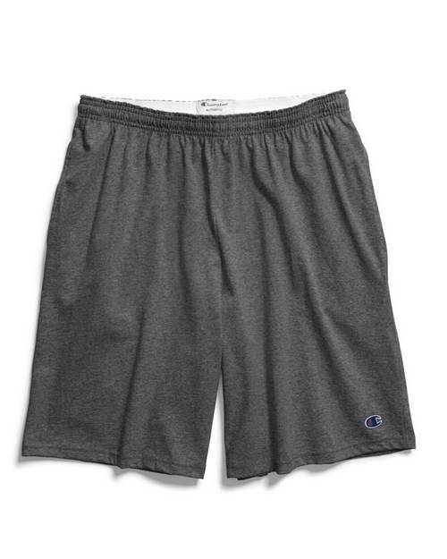 Champion 85653 Authentic Cotton Jersey Mens Shorts with Pockets