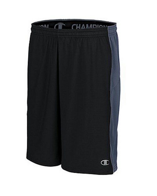 Champion 87292 PowerTrain PowerFlex Mens Solid Shorts