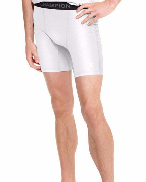 Champion 87294 PowerTrain PowerFlex Mens Solid Compression Shorts