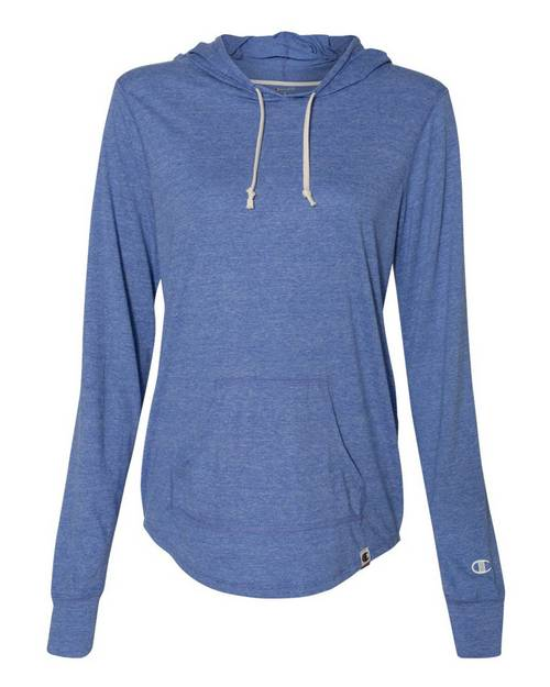 Champion AO150 Originals Womens Triblend Hooded Pullover