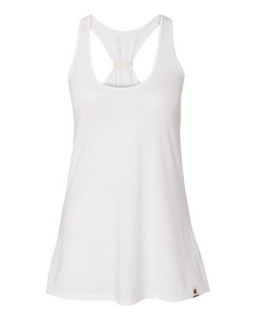 Champion AO400 Originals Womens Triblend Jersey Swing Tank