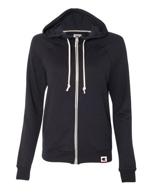 Champion AO650 Originals Womens French Terry Hooded Full-Zip