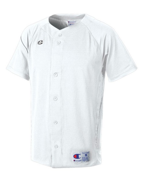 Champion BS20 Mens and Youth Prospect Double Dry Short Sleeve Full Button Jersey