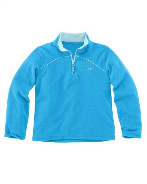 Champion C7800R Girls 1/4 Zip Micro Fleece Pullover