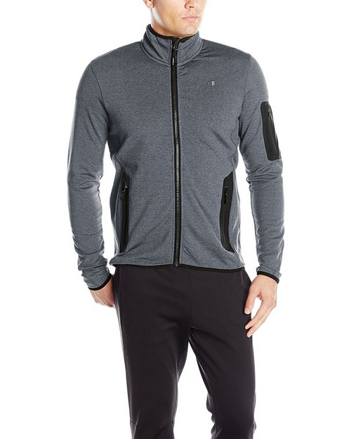 Champion Ch2013ak Mens Active Knit Jacket