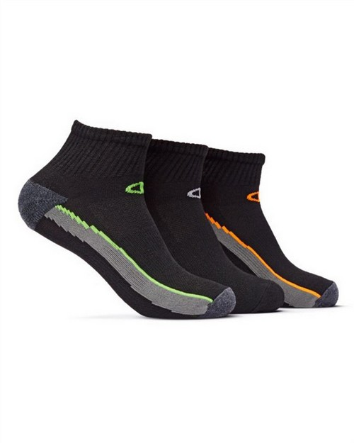 Champion CH202 Mens Ankle Training Socks 3-Pack
