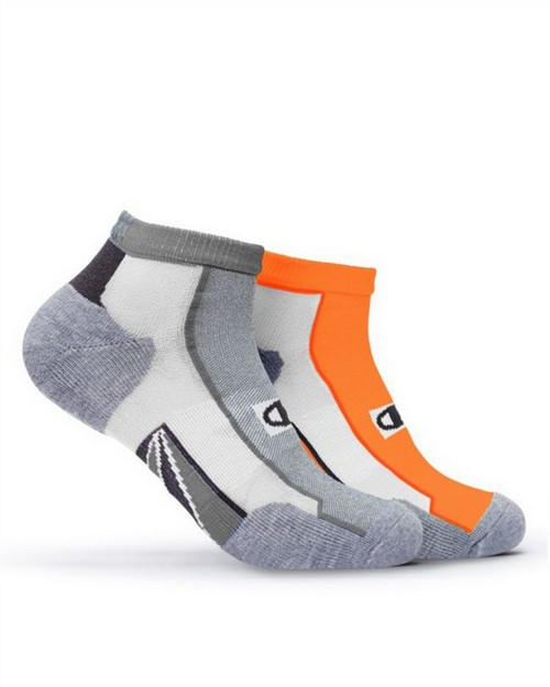 Champion CH211 Mens Mid-Ankle Running Socks 2-Pack