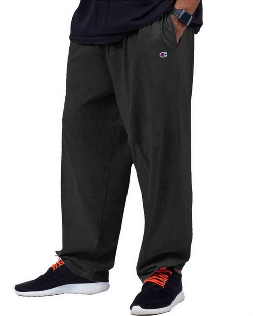 Champion CH306 Big & Tall Mens Jersey Pants with Elastic Bottom