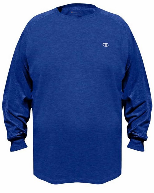 Champion Ch316 Vapor Big & Tall Jersey Long-Sleeve Tee