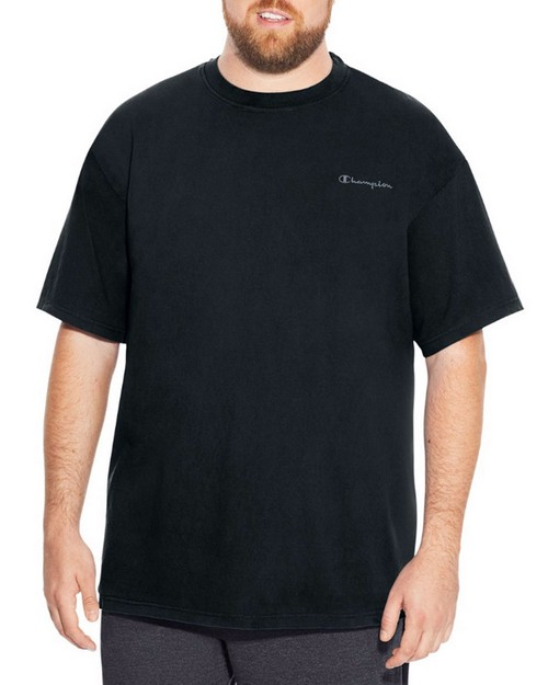 Champion CH320 Big & Tall Mens Short-Sleeve Jersey Pigment Tee