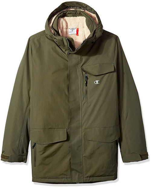 Champion Ch4006ppb Mens Big High Performance 2-Layer Jacket With Sherpa Lining