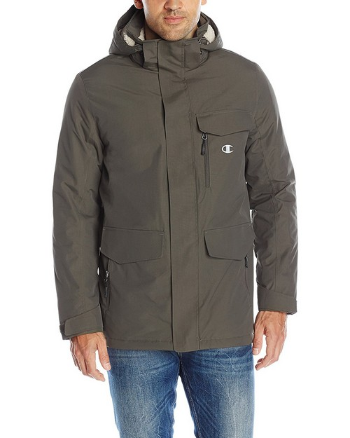 Champion Ch4006pp Mens High Performance 2-Layer Jacket With Sherpa Lining